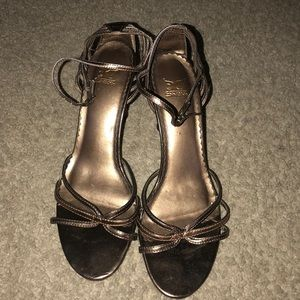 Shoes worn one time in a wedding